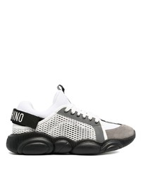 Chaussures de sport blanches Moschino
