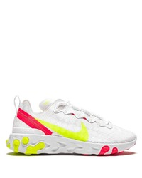 Chaussures de sport blanches Nike