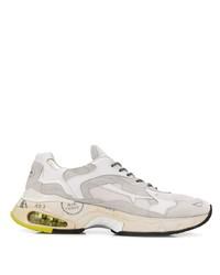 Chaussures de sport blanches Premiata