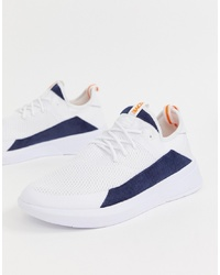 Chaussures de sport blanches Pull&Bear