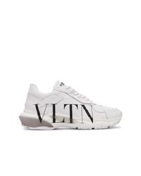 Chaussures de sport blanches Valentino