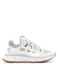 Chaussures de sport blanches Versace