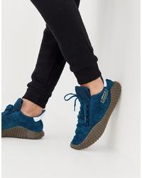 Chaussures de sport bleu canard adidas Originals