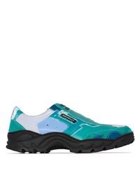 Chaussures de sport bleu canard Rombaut