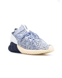 Chaussures de sport bleu clair adidas
