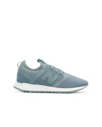 Chaussures de sport bleu clair New Balance