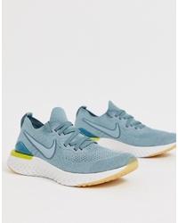 Chaussures de sport bleu clair Nike Running