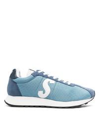 Chaussures de sport bleu clair Paul Smith