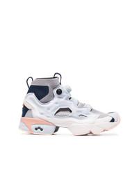 Chaussures de sport bleu clair Reebok