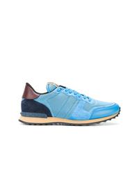 Chaussures de sport bleu clair Valentino