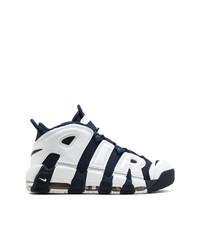 Chaussures de sport bleu marine et blanc