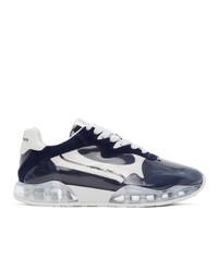 Chaussures de sport bleu marine et blanc Alexander Wang