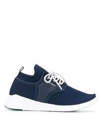 Chaussures de sport bleu marine et blanc Lacoste