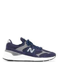 Chaussures de sport bleu marine et blanc New Balance
