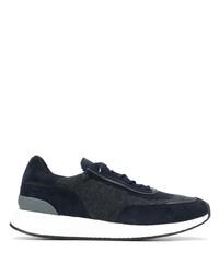 Chaussures de sport bleu marine et blanc Z Zegna