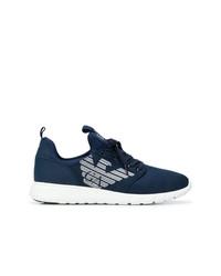 Chaussures de sport bleu marine Ea7 Emporio Armani