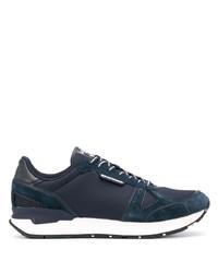 Chaussures de sport bleu marine Emporio Armani