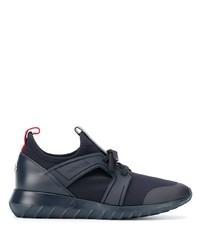Chaussures de sport bleu marine Moncler