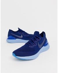 Chaussures de sport bleu marine Nike Running