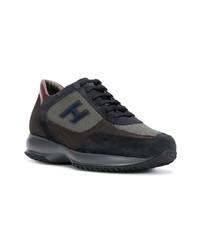 Chaussures de sport bleu marine Hogan