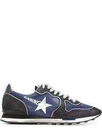 Chaussures de sport bleues marine Golden Goose Deluxe Brand