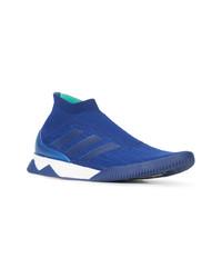 Chaussures de sport bleues adidas