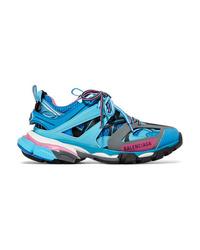 Chaussures de sport bleues Balenciaga