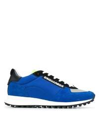 Chaussures de sport bleues DSQUARED2