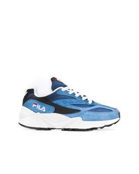 Chaussures de sport bleues Fila