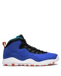 Chaussures de sport bleues Jordan