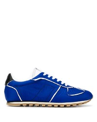 Chaussures de sport bleues Maison Margiela