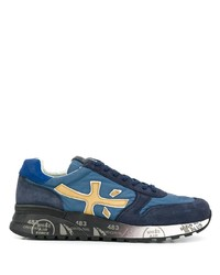 Chaussures de sport bleues Premiata