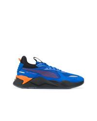 Chaussures de sport bleues Puma