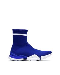 Chaussures de sport bleues Reebok
