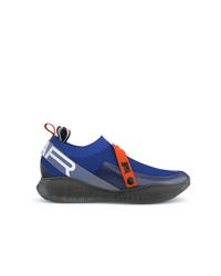 Chaussures de sport bleues Swear