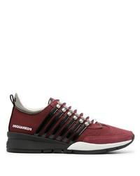 Chaussures de sport bordeaux DSQUARED2