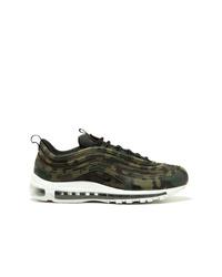 Chaussures de sport camouflage marron foncé Nike