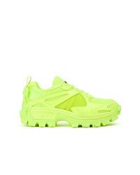 Chaussures de sport chartreuses Juun.J