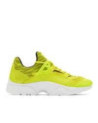 Chaussures de sport chartreuses Kenzo