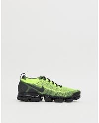 Chaussures de sport chartreuses Nike Running