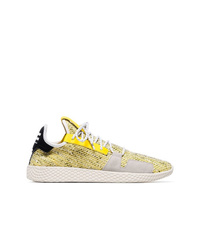 Chaussures de sport dorées Adidas By Pharrell Williams
