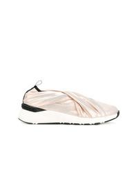 Chaussures de sport dorées Casadei