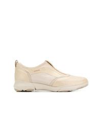 Chaussures de sport dorées Geox