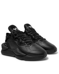 Chaussures de sport en cuir noires