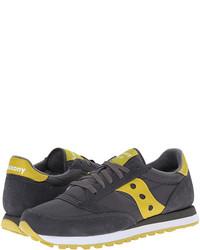 Chaussures de sport en daim gris foncé