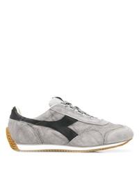 Chaussures de sport en daim grises Diadora
