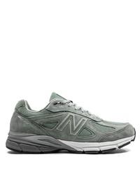 Chaussures de sport en daim grises New Balance