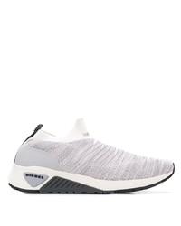 Chaussures de sport en toile grises