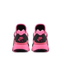 Chaussures de sport fuchsia Comme Des Garcons Homme Plus