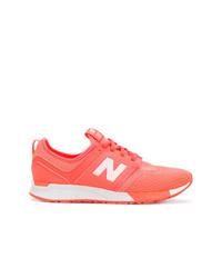Chaussures de sport fuchsia New Balance
